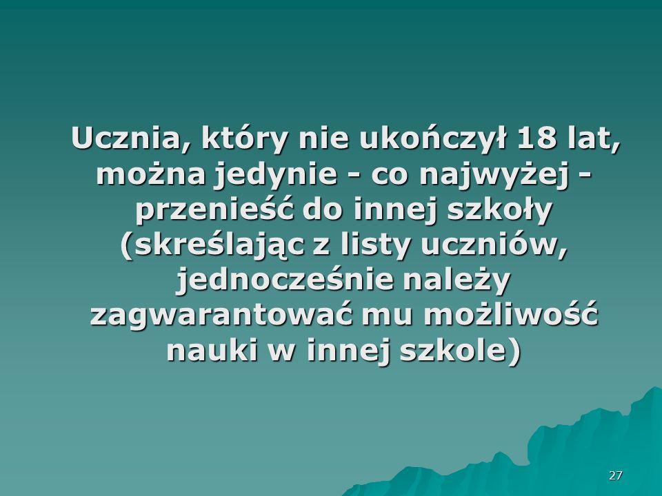 28 prawo ucznia do udziału w zajęciach dydaktyczno-wyrównawczych w przypadku trudności w nauce (art.