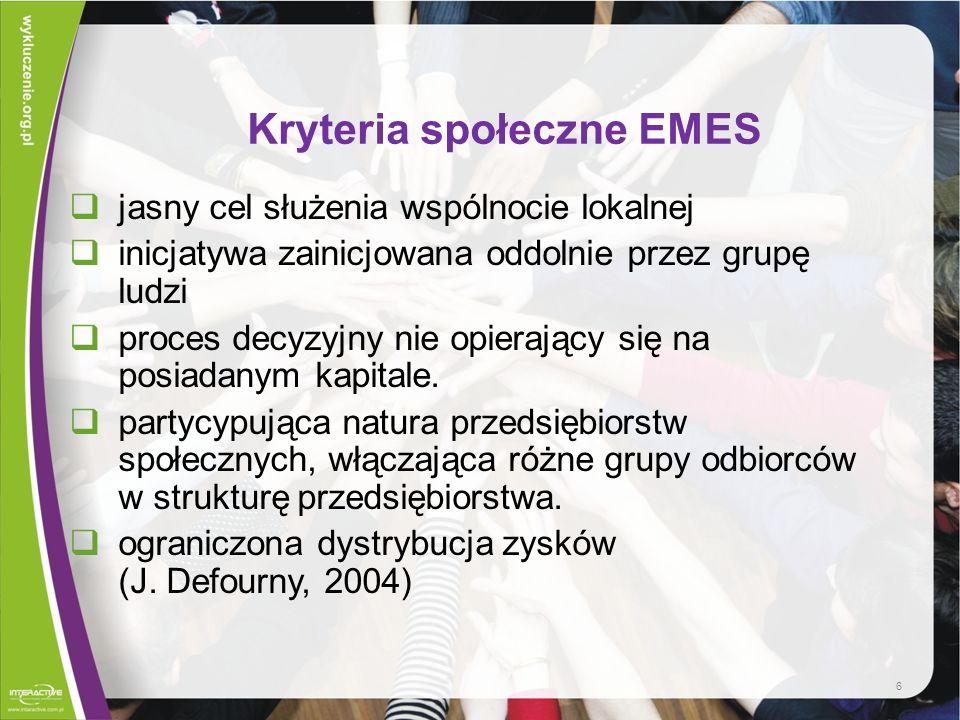 Dobre praktyki polskie - przedsiębiorstwo społeczne wielobranżowe w Wieprzu Przedsiębiorstwo prowadzone w formie odpłatnej działalności przez Stowarzyszenie Pomocy Bezrobotnym i ich Rodzinom Nadzieja.