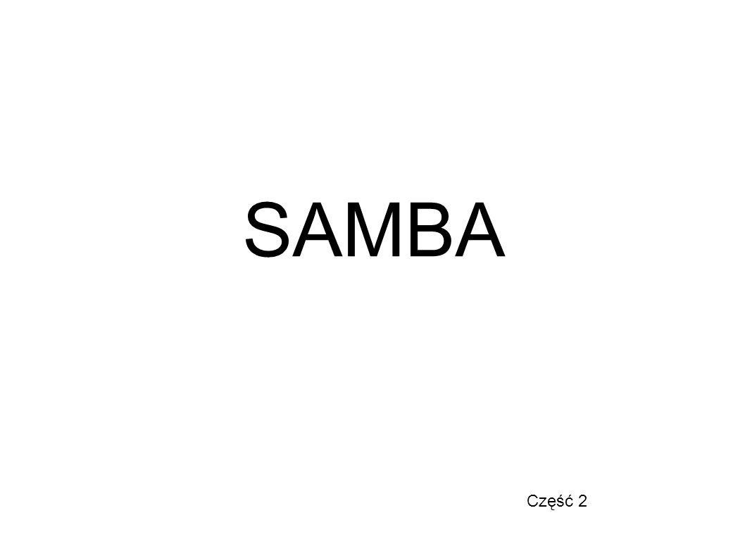 SAMBA Część 2