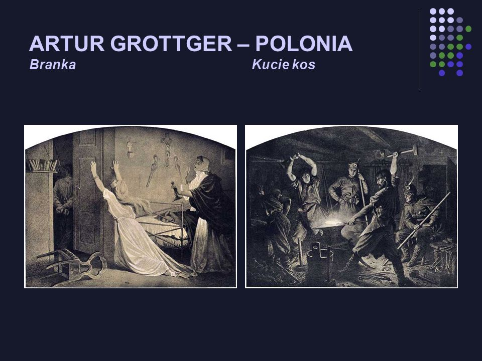 ARTUR GROTTGER – POLONIA Branka Kucie kos