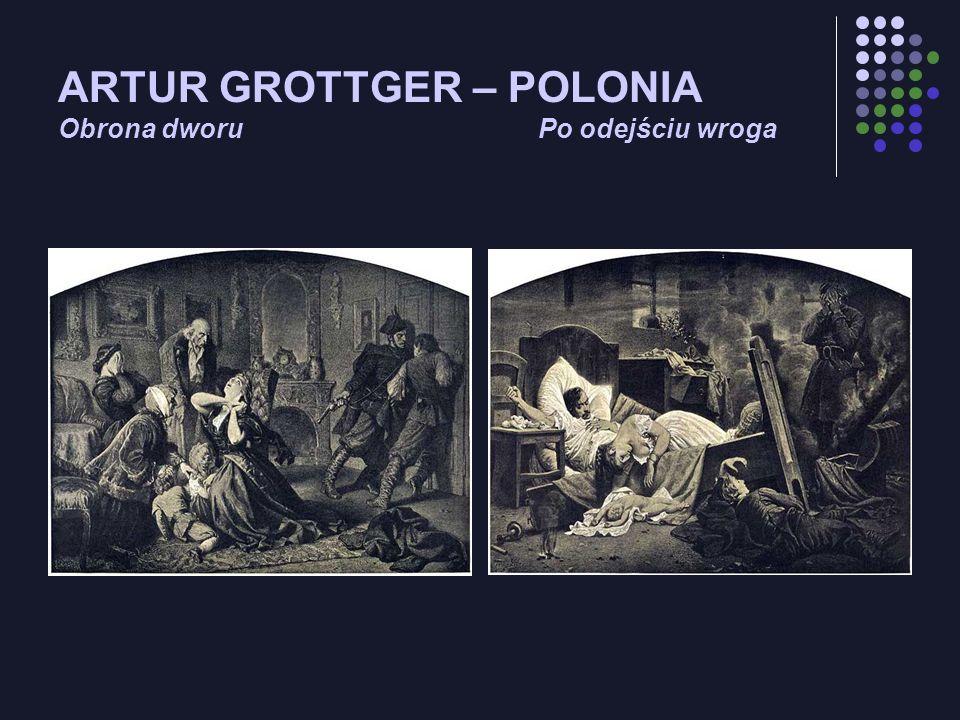 ARTUR GROTTGER – POLONIA Obrona dworuPo odejściu wroga