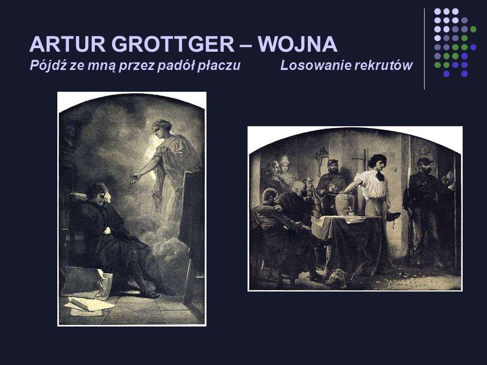 ARTUR GROTTGER – WOJNA Pójdź ze mną przez padół płaczu Losowanie rekrutów