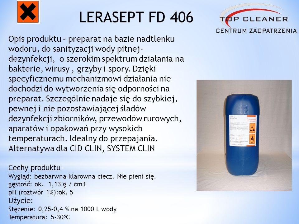 Opis produktu – preparat na bazie nadtlenku wodoru, do sanityzacji wody pitnej- dezynfekcji, o szerokim spektrum działania na bakterie, wirusy, grzyby