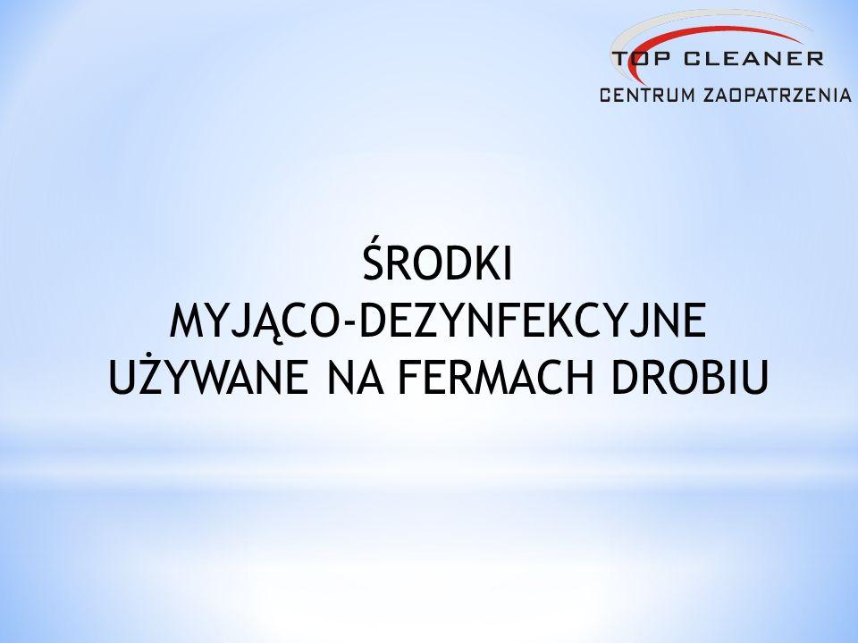 Opis produktu – alkaiczny środek myjący i dezynfekujący przeznaczony do mycia systemu pojenia, posiada bardzo dobre właściwości rozpuszczające pozostałości organiczne (leki, witaminy, glony ).