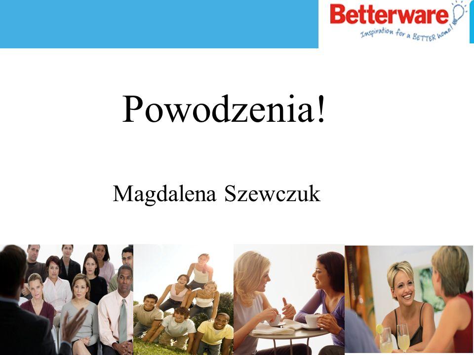 Powodzenia! Magdalena Szewczuk