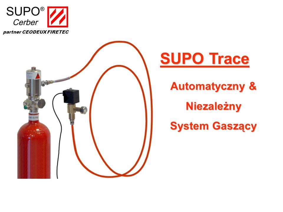 Automatyczny & Niezależny System Gaszący SUPO Trace partner CEODEUX FIRETEC
