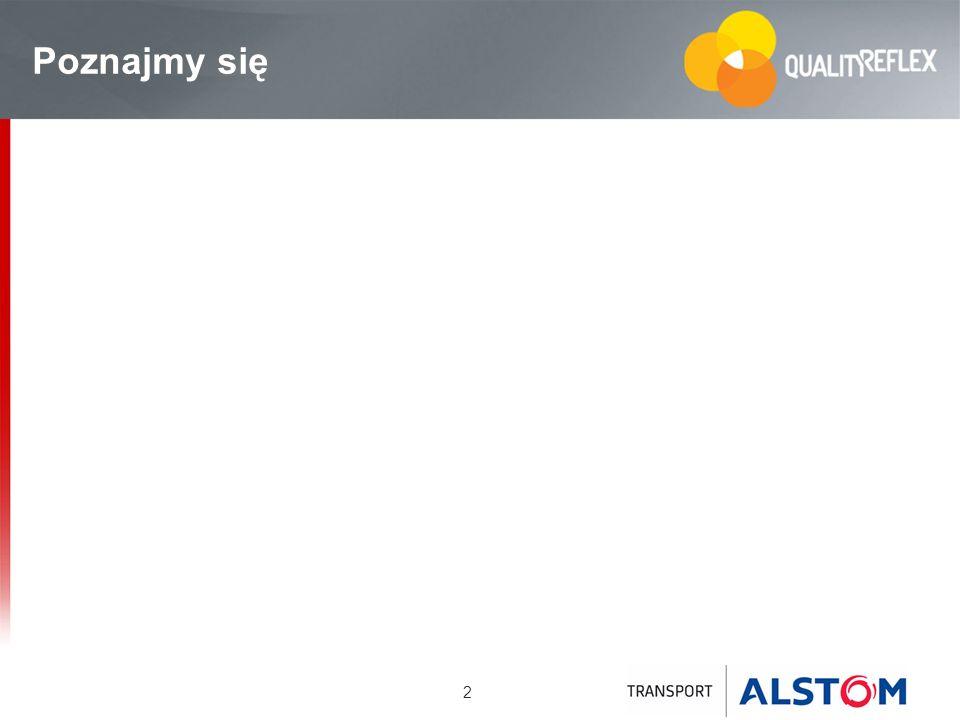 33 IMPACT Wewnętrzny program ALSTOM Tranport wdrażany od 2005 r.