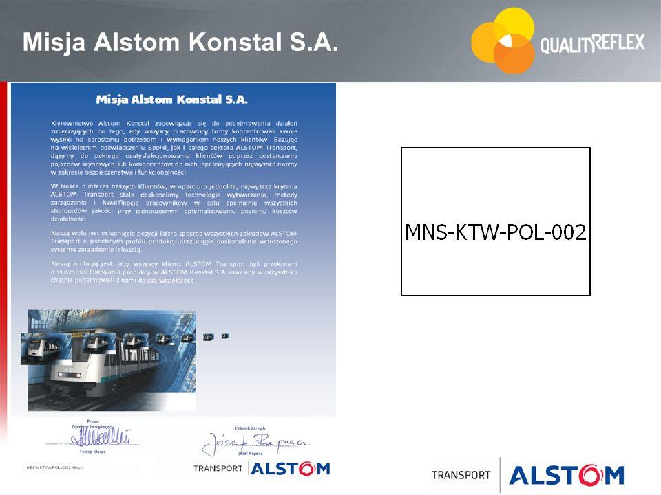 24 Misja Alstom Konstal S.A.
