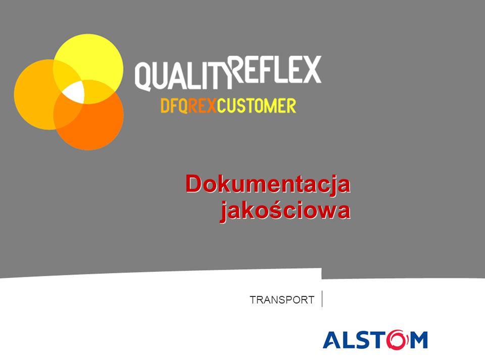 TRANSPORT Dokumentacja jakościowa