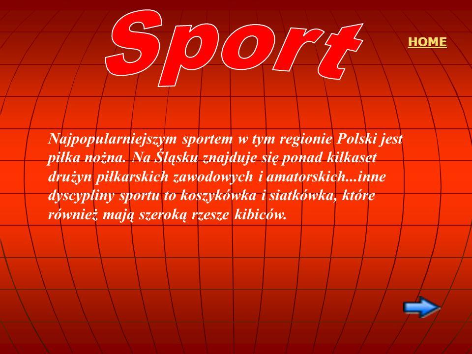Najpopularniejszym sportem w tym regionie Polski jest piłka nożna. Na Śląsku znajduje się ponad kilkaset drużyn piłkarskich zawodowych i amatorskich..