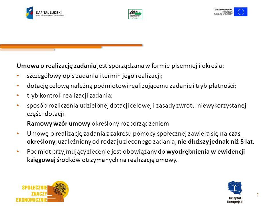 7.2.1 – typy projektów 10.wsparcie dla tworzenia i funkcjonowania pozaszkolnych form integracji społecznej młodzieży (świetlice środowiskowe w tym z programem socjoterapeutycznym, kluby środowiskowe) połączonych z realizacją działań w zakresie reintegracji zawodowej i społecznej 11.organizowanie akcji i kampanii promocyjno – informacyjnych m.in.