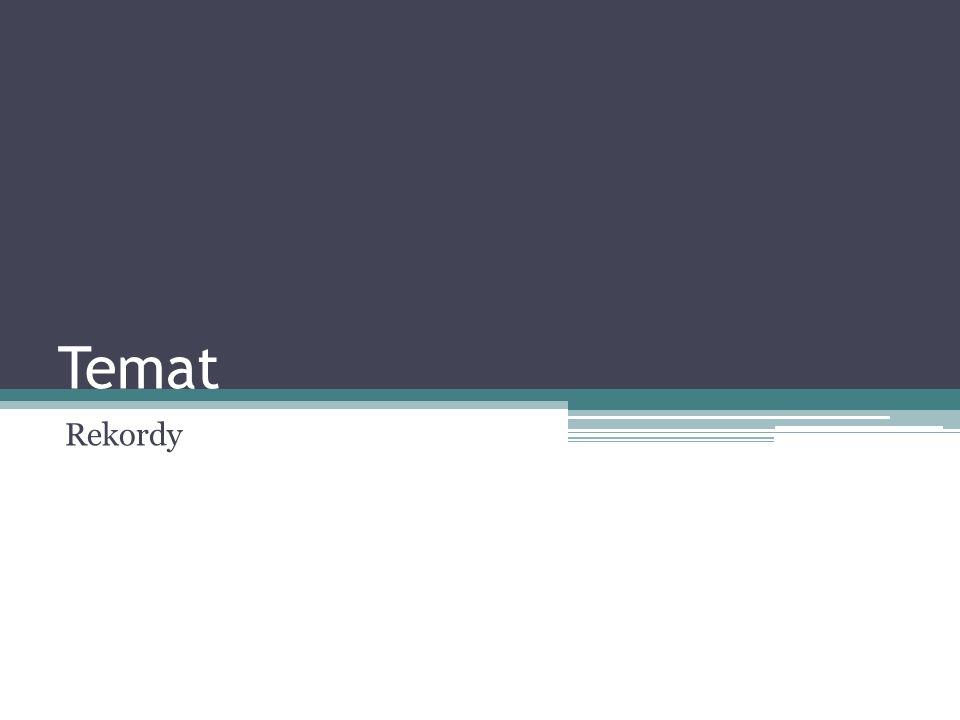 Temat Tworzenie i przetwarzanie dynamicznych struktur danych- listy