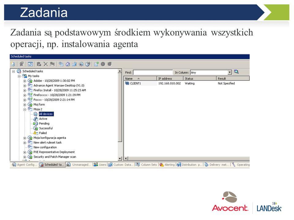 Instalowanie agenta Własna konfiguracja agenta lub gotowa dla Windows, Linux i Mac