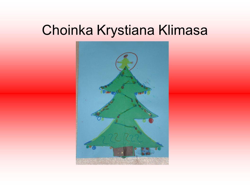 Świąteczna choinka W projekcie, który wykonywaliśmy w szkole zaprojektowałem świąteczną choinkę. Ma ona małe i duże bańki o różnych kolorach. Są na ni