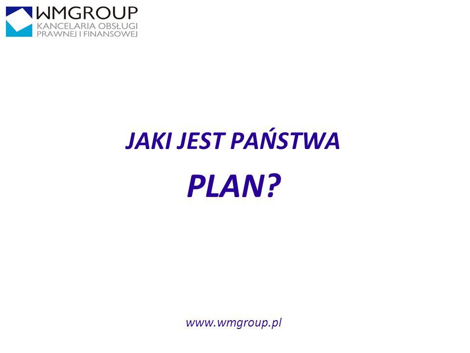 2929 JAKI JEST PAŃSTWA PLAN? www.wmgroup.pl
