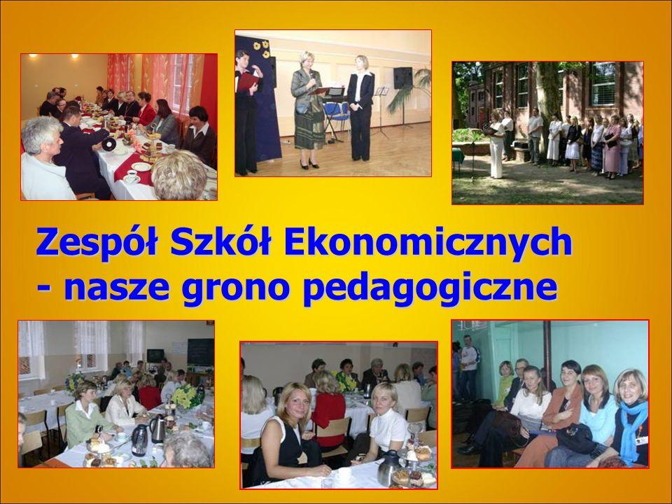 Zespół Szkół Ekonomicznych - nasze grono pedagogiczne