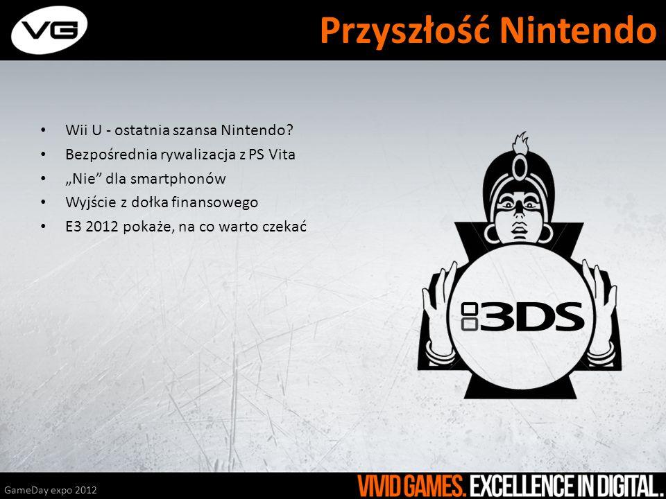 Wii U - ostatnia szansa Nintendo? Bezpośrednia rywalizacja z PS Vita Nie dla smartphonów Wyjście z dołka finansowego E3 2012 pokaże, na co warto czeka