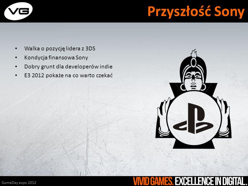 Walka o pozycję lidera z 3DS Kondycja finansowa Sony Dobry grunt dla developerów indie E3 2012 pokaże na co warto czekać GameDay expo 2012 Przyszłość