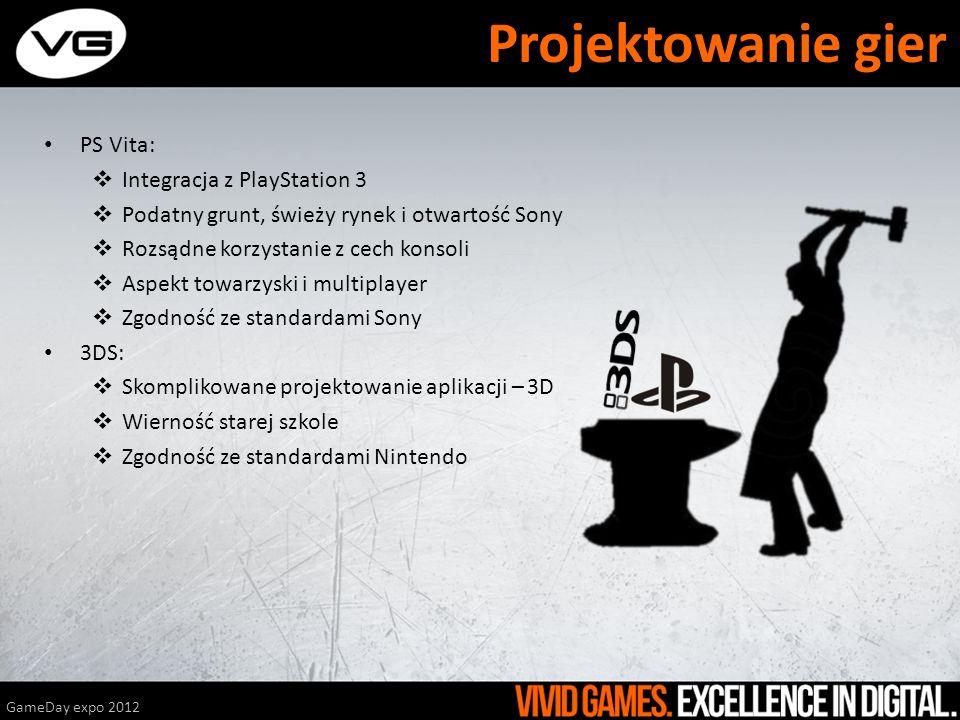 PS Vita: Integracja z PlayStation 3 Podatny grunt, świeży rynek i otwartość Sony Rozsądne korzystanie z cech konsoli Aspekt towarzyski i multiplayer Z