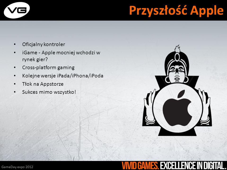 Oficjalny kontroler iGame - Apple mocniej wchodzi w rynek gier? Cross-platform gaming Kolejne wersje iPada/iPhona/iPoda Tłok na Appstorze Sukces mimo