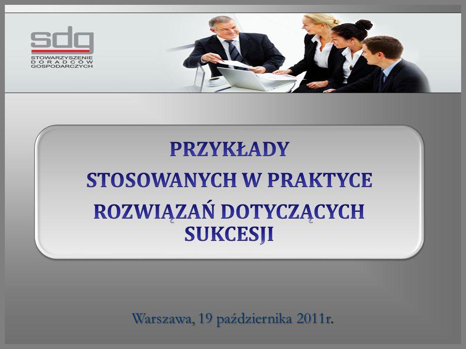 Warszawa, 19 października 2011r.