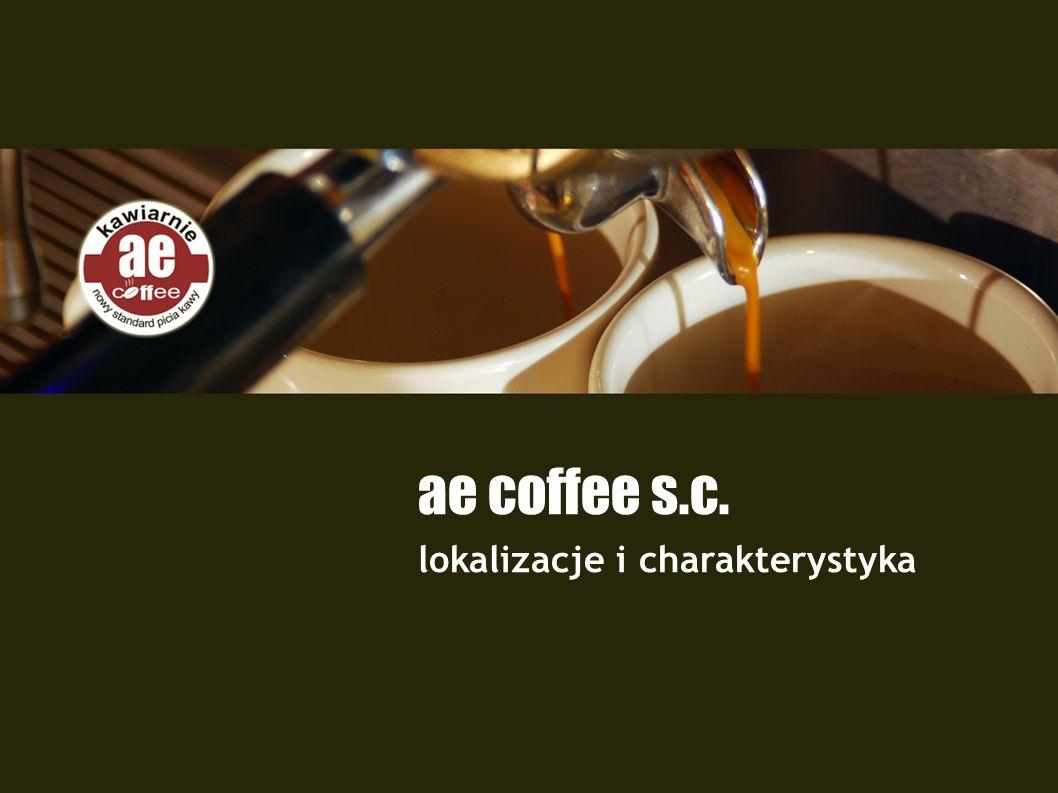 ae coffee s.c. lokalizacje i charakterystyka