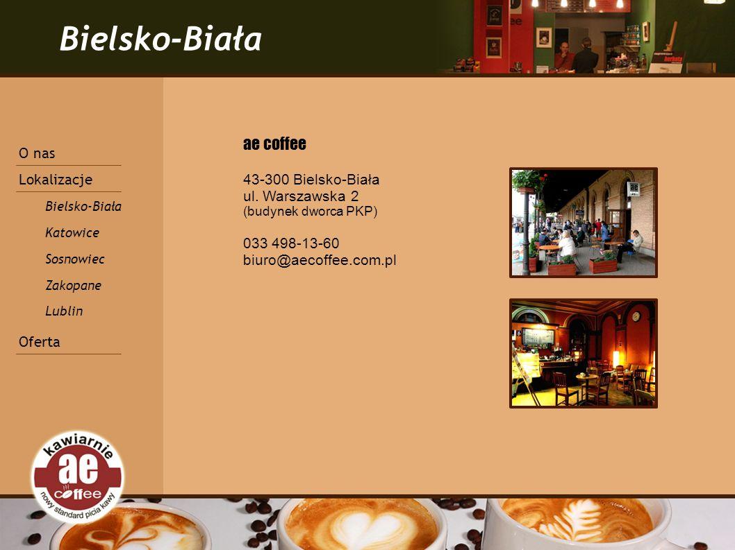 Bielsko-Biała ae coffee 43-300 Bielsko-Biała ul.