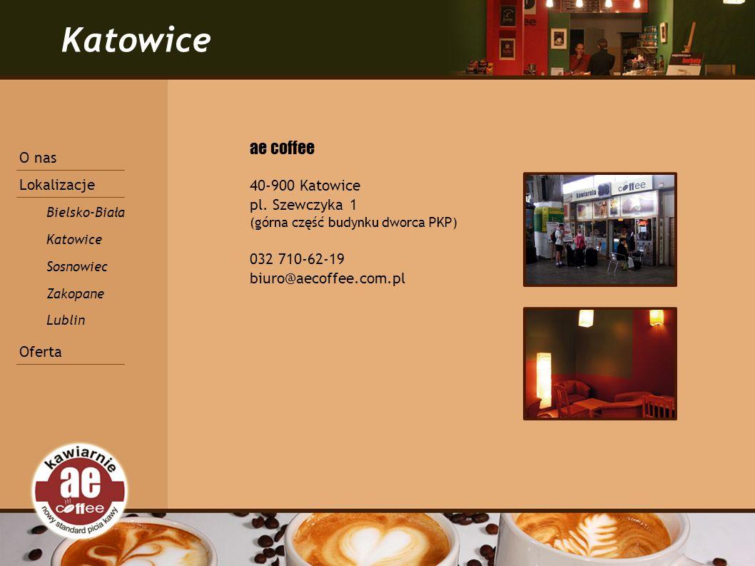 Katowice ae coffee 40-900 Katowice pl.