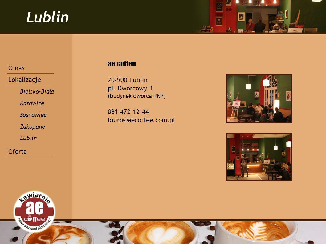 Lublin ae coffee 20-900 Lublin pl.