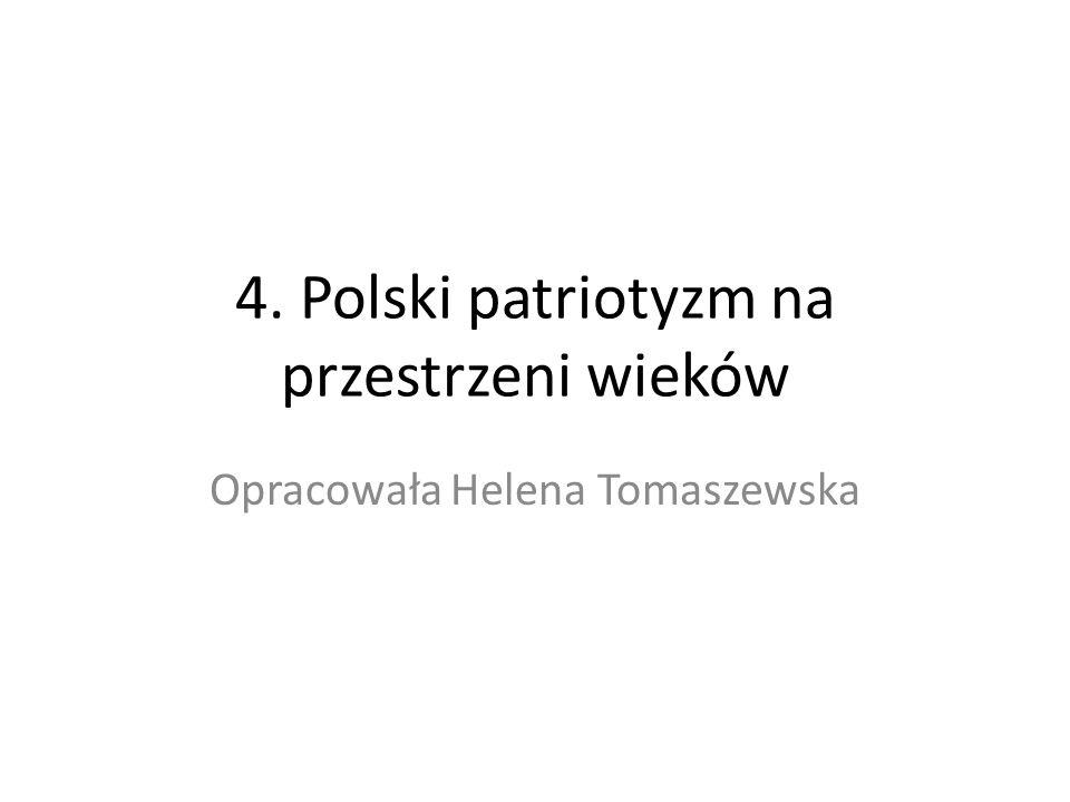 1.Patriotyzm – pojęcie i cechy 1. Patriotyzm – umiłowanie własnej Ojczyzny = kraju.