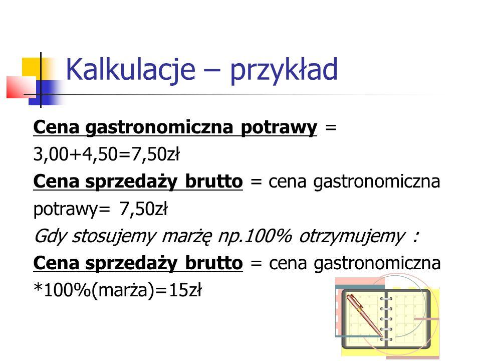 Kalkulacje – uprawnienia Kelner musi mieć uprawnienia do zmiany cen gastronomicznych.