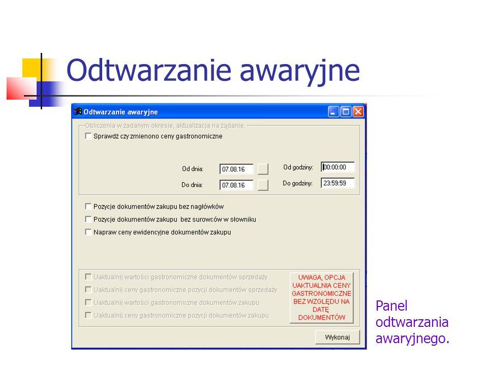 Edycja dokumentów WINREST umożliwia zmianę ustawień i parametrów dokumentów wystawianych przez program.