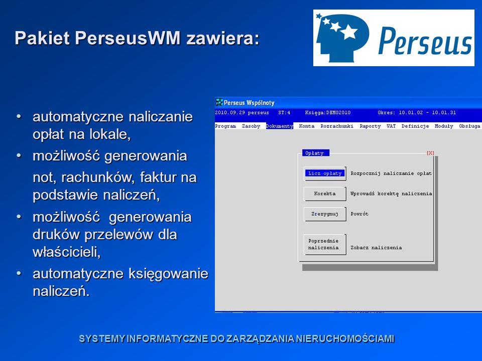 Zachęcamy do skorzystania z bezpłatnej prezentacji programu w siedzibie firmy Perseus lub w Państwa firmie.