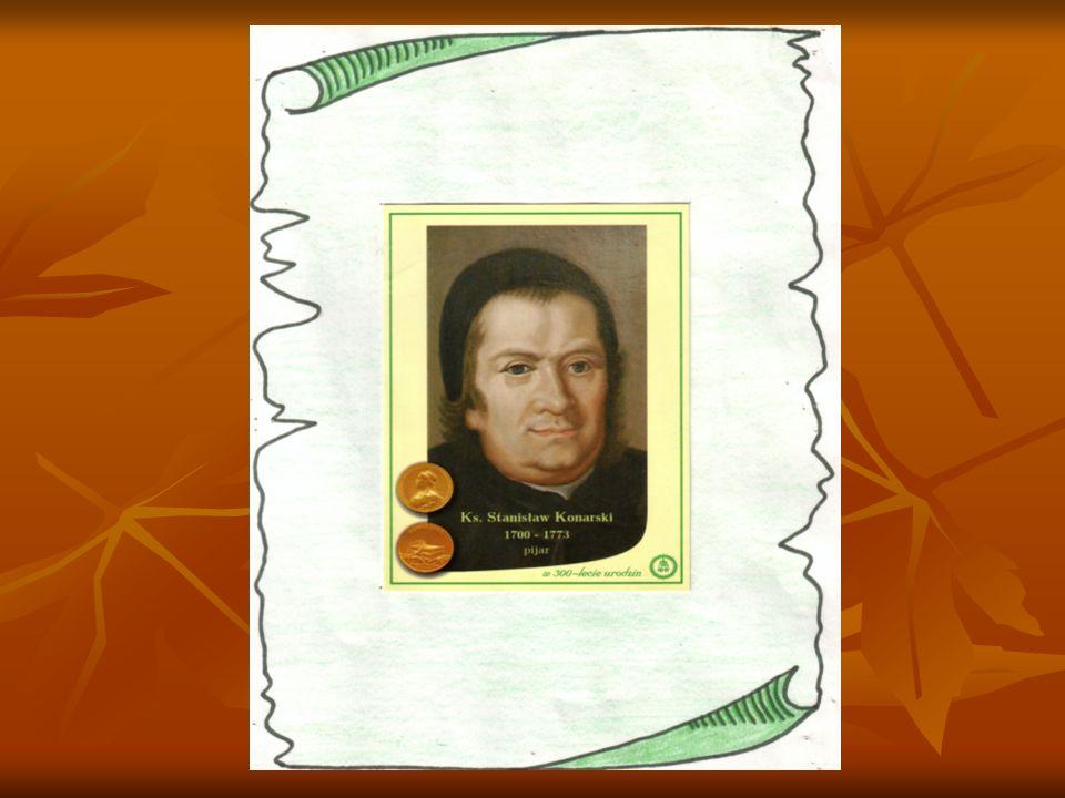 Podobizna Stanisława Konarskiego na serii znaczków z 1923 roku
