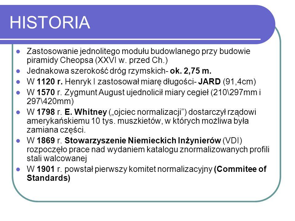 MIĘDZYNARODOWE ORGANIZACJE NORMALIZACYJNE: ISO: International Organization For Standardization Utworzony 23.II.1947 r.