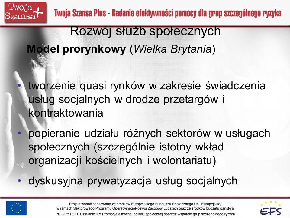 Polska – słabości pomocy społecznej 1.