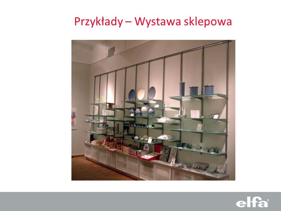 Przykłady – Wystawa sklepowa