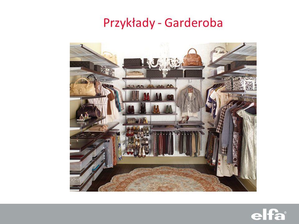 Przykłady - Garderoba