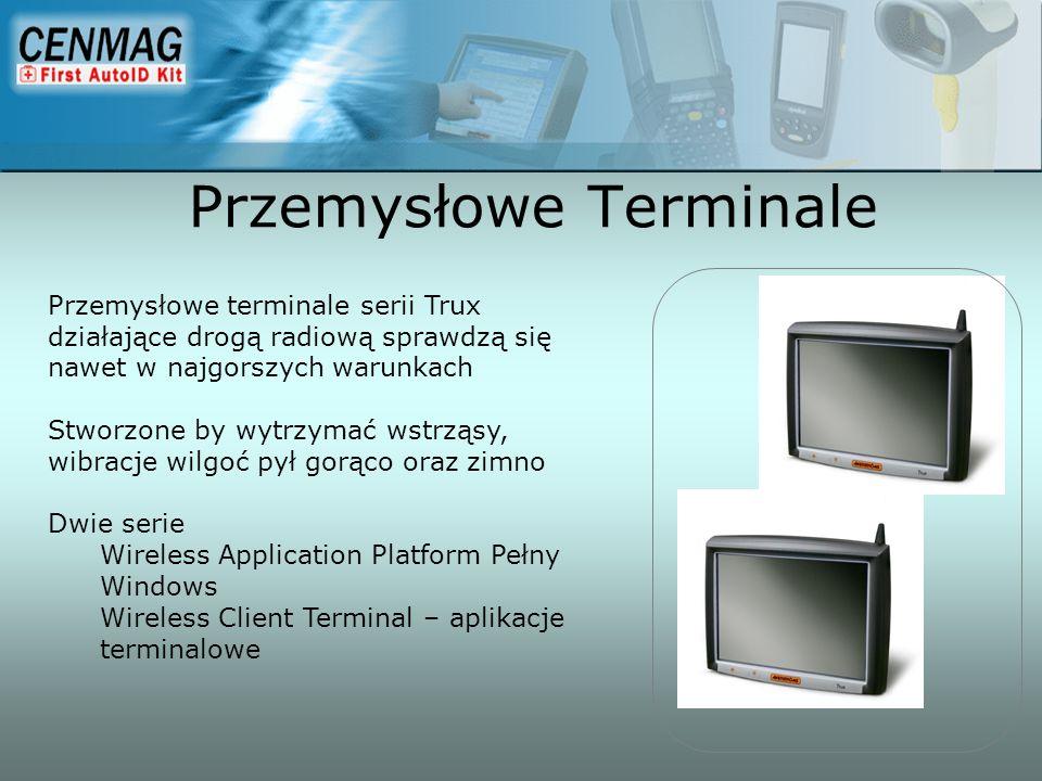 Przemysłowe terminale serii Trux działające drogą radiową sprawdzą się nawet w najgorszych warunkach Stworzone by wytrzymać wstrząsy, wibracje wilgoć