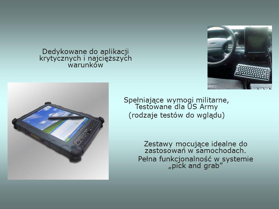 Dedykowane do aplikacji krytycznych i najcięższych warunków Zestawy mocujące idealne do zastosowań w samochodach. Pełna funkcjonalność w systemie pick