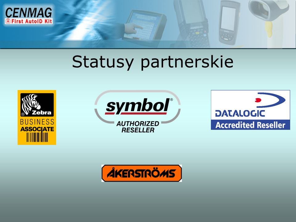 Przemysłowe Tablety PC Prezentacja Firmy Cenmag LTD.
