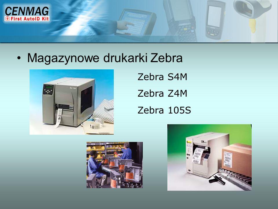 Magazynowe drukarki Zebra Zebra S4M Zebra Z4M Zebra 105S