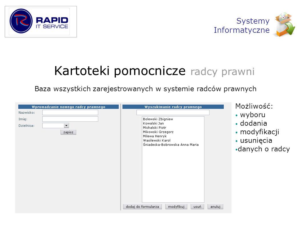 Administracja Monitoring Zestawienie prawidłowych logowań i nieuprawnionych prób dostępu Systemy Informatyczne