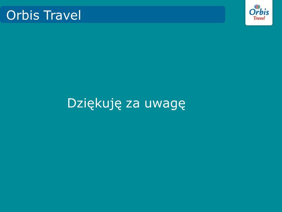 Dziękuję za uwagę Orbis Travel