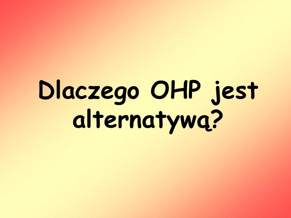 Dlaczego OHP jest alternatywą?