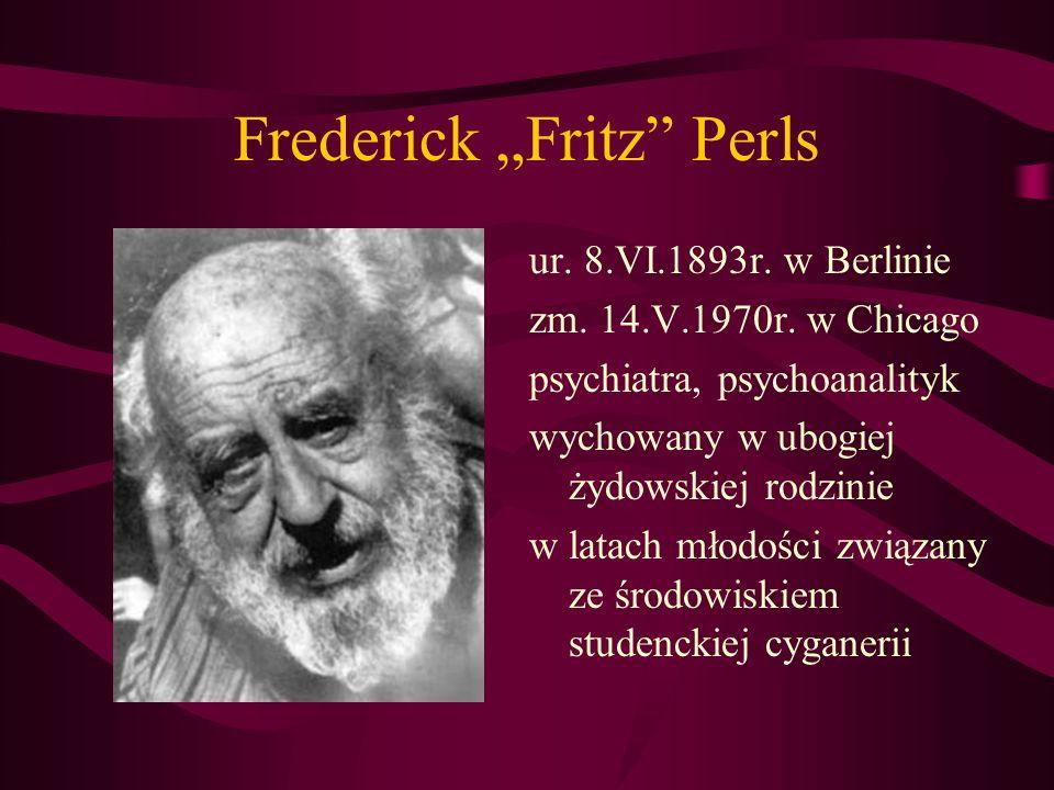Frederick Fritz Perls 1946r.