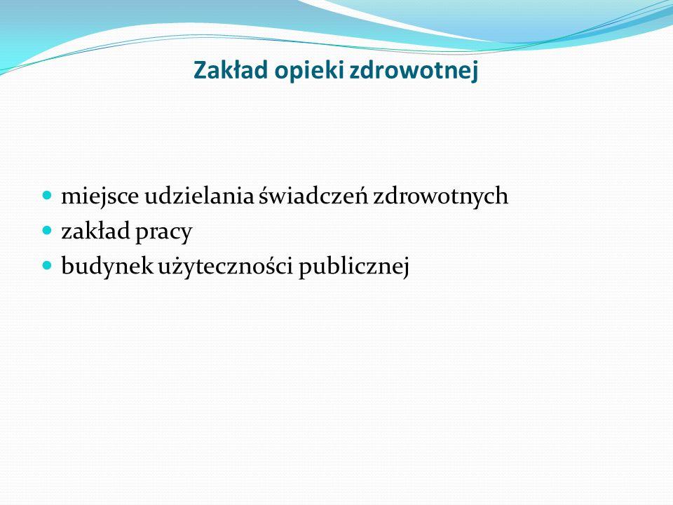 Centralna sterylizatornia - warunki pracy Rozporządzenie Ministra Pracy i Polityki Socjalnej z dnia 26 września 1997r w sprawie ogólnych przepisów bezpieczeństwa i higieny pracy (Dz.