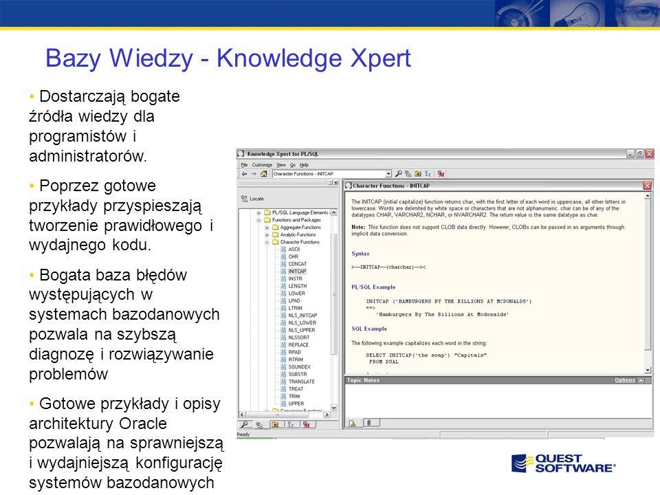 Bazy Wiedzy - Knowledge Xpert Dostarczają bogate źródła wiedzy dla programistów i administratorów.