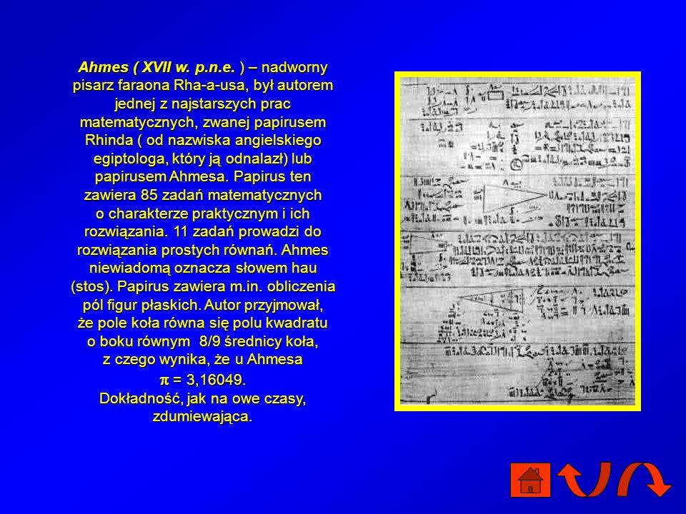W królestwie liczb nie ma równości. Prym wiodą arystokratki, z których najbardziej znana jest liczba zwana też liczbą Archimedesa. Czym zasłużyła sobi