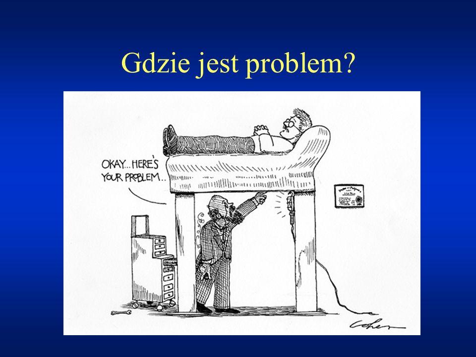 Gdzie jest problem?